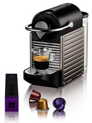 Reviews Nespresso Pixie capsule coffee maker