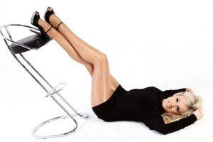 obtenir des jambes brillantes